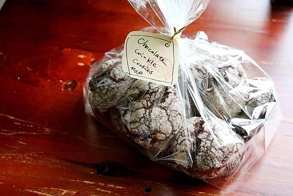 巧克力裂紋小鬆餅