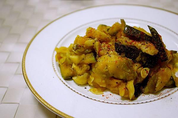瘦身食譜:南瓜野菇雞肉