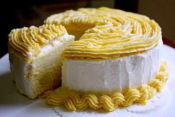 金薯泥香草蛋糕
