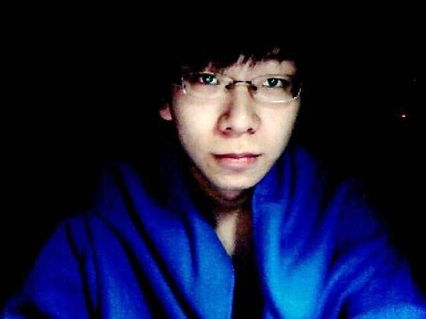 寶藍色袖毯