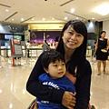 2012.07.07-之後跑去台北101,畢竟世上有名的建築就在台北,怎可以只淪為陸客在參觀呢??