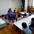 2012.10.01-這天的主題課程,老師邀請我出去作示範教學