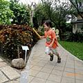 2012.10.15-在學校旁公園為運動會接力賽練習...