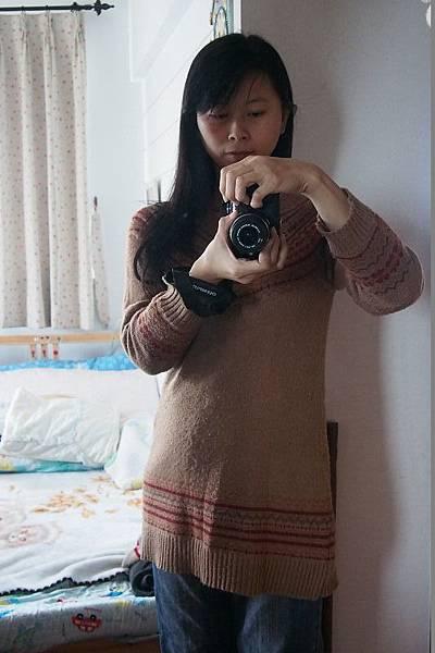 2012.12.26-懷孕五個多月的媽咪自拍
