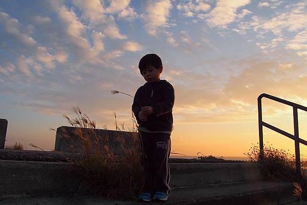 2012.12.29-即將成為過去的日落;與充滿活力面對未來的我