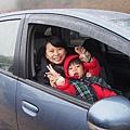 2012.12.30-開了半天的車,終於來到大雪山,只是此時又飄起了雨...真的是冷到不行~
