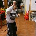 2013.01.30-媽咪說這叫亂跳一通,我則認為是他不懂我的舞蹈細胞