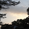 路燈的天空