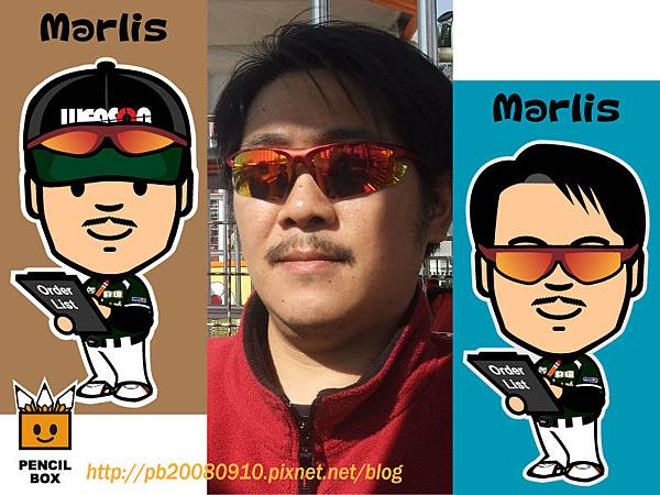 Q版 Marlis (老馬)