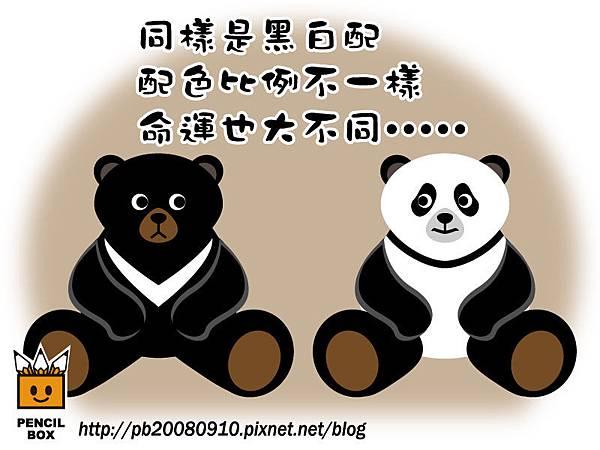 台灣黑熊&貓熊