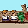歪腰Bear桌布(800x600)