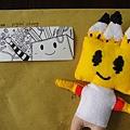 豬女手作之Pencil Box&手繪卡(正面)
