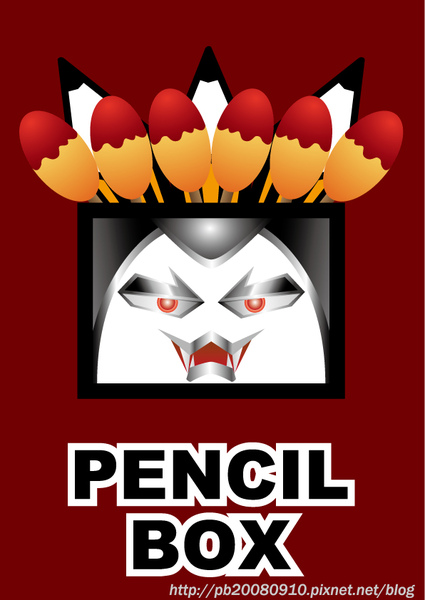 Pencil-Box-飯團男爵