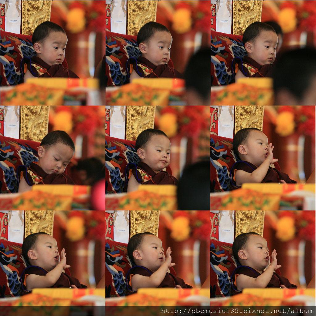 7.成就自在-第四世貝諾法王陞座大典 貝諾法王打瞌睡s.jpg