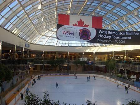 加拿大West Edmonton滑冰場