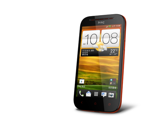htc-one-sv-L45-red