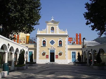 06 聖方濟各聖堂 2004.02.09 澳門 05.JPG