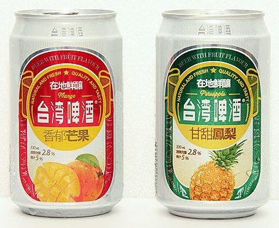 果味台啤_鳳梨