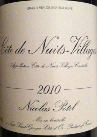 Nicolas Potel Côte de Nuits-Villages