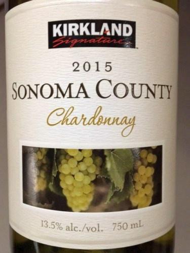 Kirkland Chardonnay 2015
