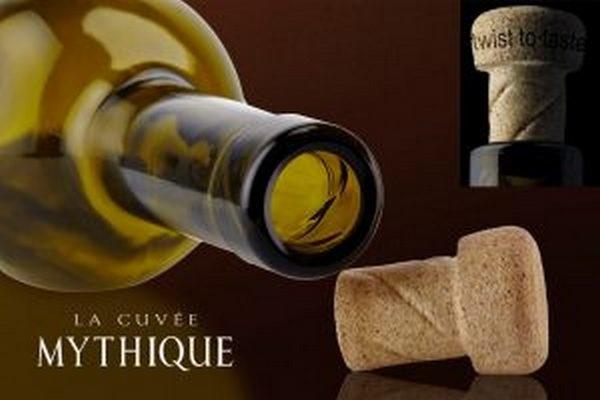 La Cuvée Mythique旋轉軟木塞