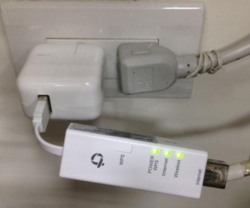 超便利USB無線寬頻分享器MZK-UE150N