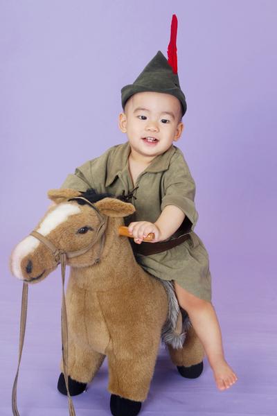 最愛騎馬馬!
