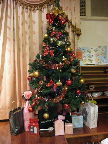 聖誕樹下滿滿禮物