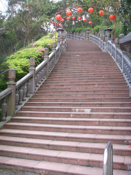 長長的階梯