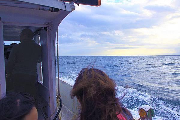 770搭乘漁船出海
