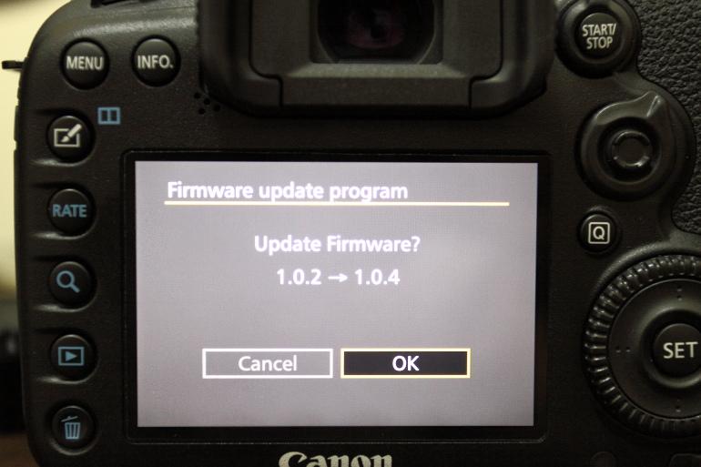 更新韌體1