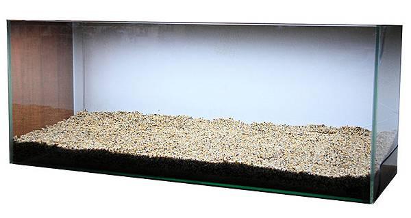 3呎白玻璃缸.JPG