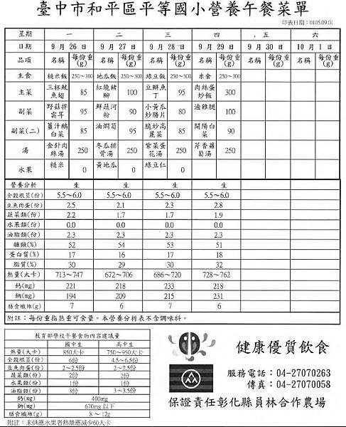 105-1-5 營養午餐菜單.JPG