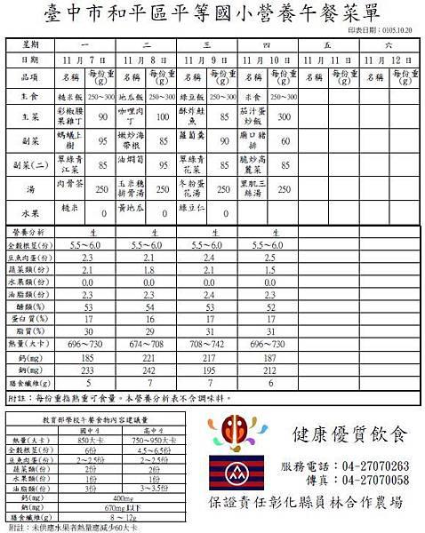 105-1-11 營養午餐菜單.JPG