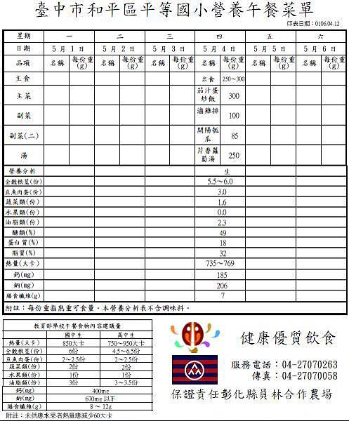 105-2-12 營養午餐菜單.JPG