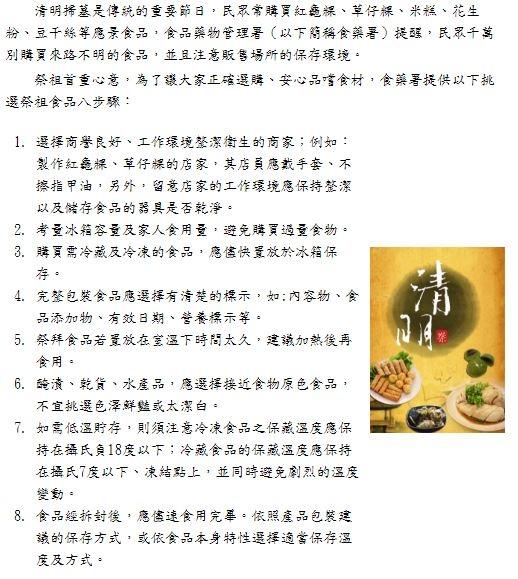 2017-3-24 挑選祭祀食品看標示適量買、加熱吃(第601期).JPG