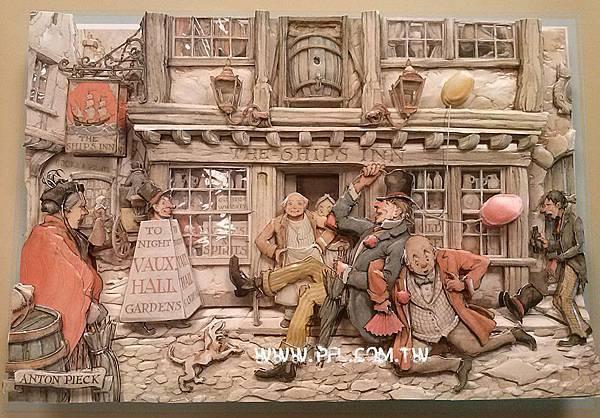 安東彼克-不醉不歸~歐風立體紙雕