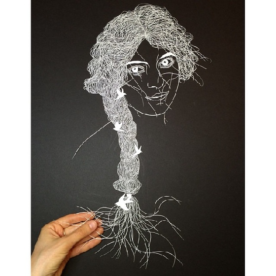 紐約藝術家Maude White-10