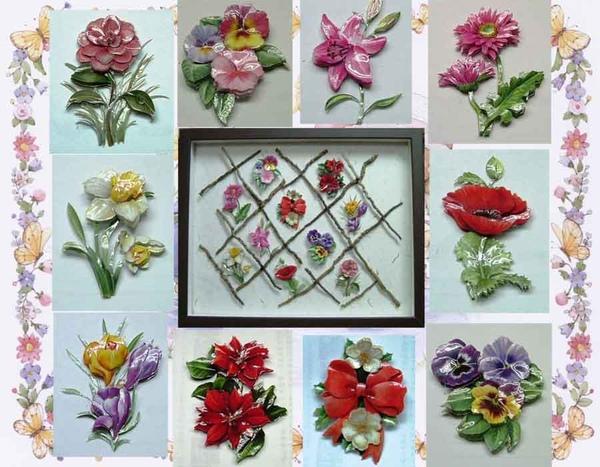 花間集~歐風立體紙雕作品