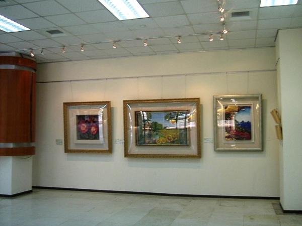 2006.8月19日台北市社教館~立體紙雕特展1