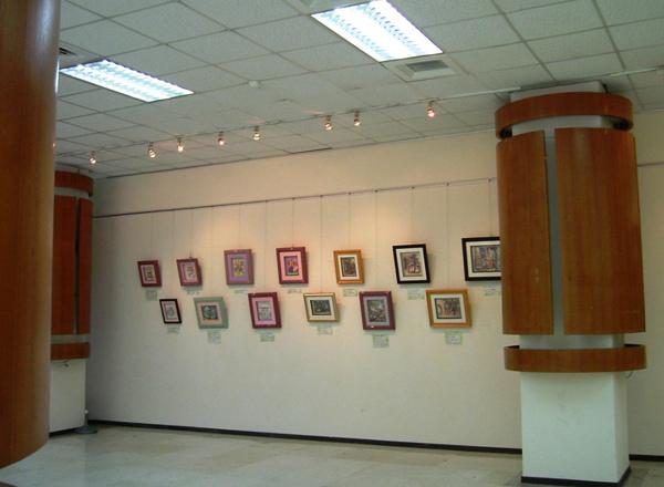 2006.8月19日台北市社教館~立體紙雕特展3