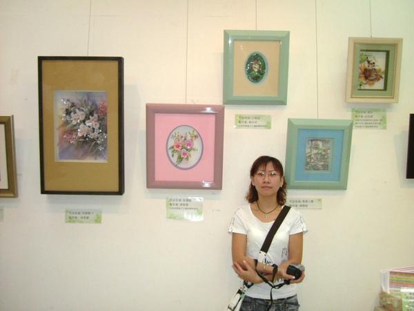 2006.8月19日台北市社教館~陳紫彤與作品1