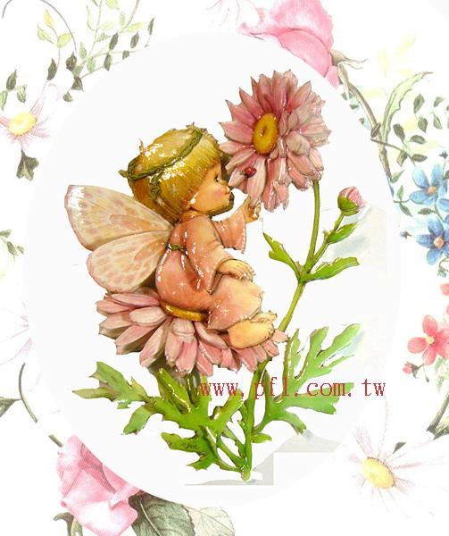 雛菊花仙子 ~歐風立體紙雕作品