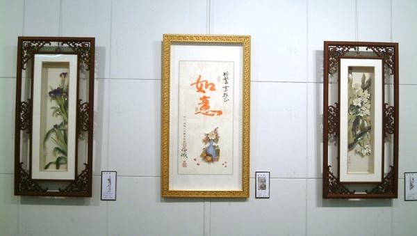 2008.6月18日台北縣政府~立體紙雕特展1