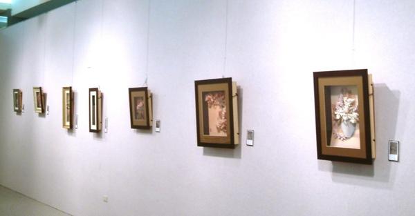 2008.6月18日台北縣政府~立體紙雕特展7