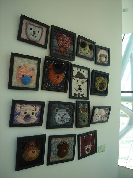 泰迪熊博物館一隅