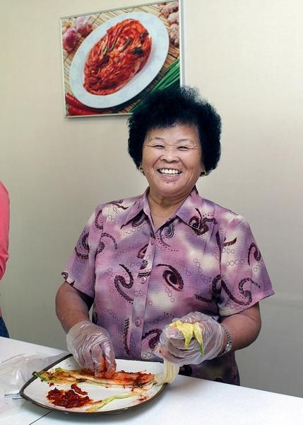 婆婆醃泡菜