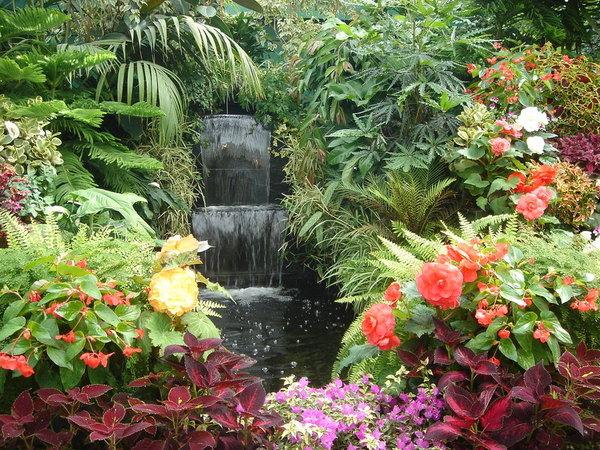 花園中的日式造景