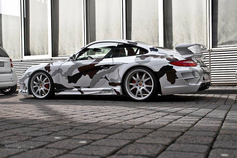 另一種改裝風格 迷彩塗裝大集合 Camouflage Painting On Supercars 毒舌痞子