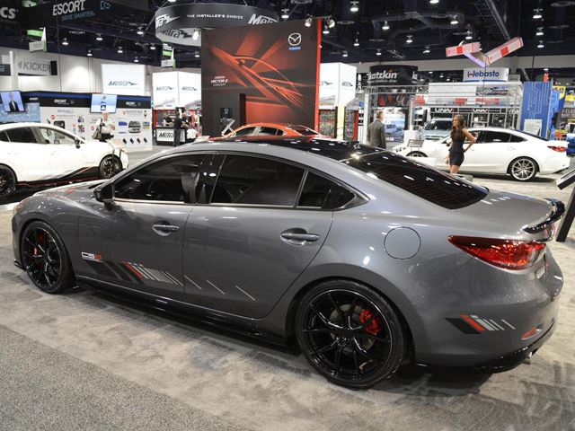 mazda 3 6 i 2014 sema show. Black Bedroom Furniture Sets. Home Design Ideas
